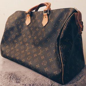 💯Authentic Louis Vuitton Speedy 40 Carryall EUC‼️